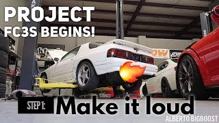 Download MADE MY JDM FC3S RX7 REALLY LOUD! Video