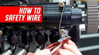 Download How To Safety Wire Bolts, Grips and Drill Bolt Heads Video