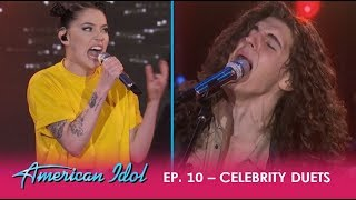 Download Cade Foehner & Bishop Briggs ROCK The 'Idol' Stage With ″Never Tear Us Apart″| American Idol 2018 Video