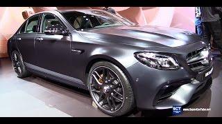 Download 2017 Mercedes AMG E63 S Edition 1 - Exterior and Interior Walkaround - Debut at 2016 LA Auto Show Video