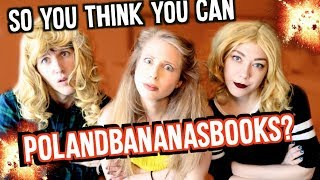 Download WHO CAN POLANDBANANASBOOKS? | BOOKSPLOSION CHALLENGE Video