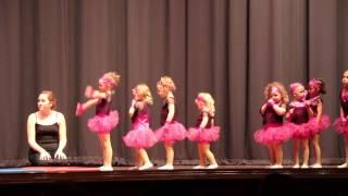 Download Little girls' dance recital - Acrobatics Video