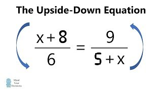 Download The Incredible Upside Down Equation - Math Ambigram Video