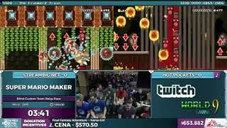 Download Super Mario Maker, Team Streambig vs. Team Hot Pockets in 1:20:00 - SGDQ 2016 - Part 157 Video