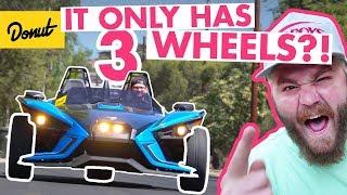 Download Polaris Slingshot: Three Wheel Fun! | The New Car Show Video