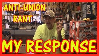 Download ANTI UNION RANT - MY RESPONSE - LET'S TALK Video