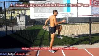 Download 5 Min Warm Up Routine: Distance Running Drills to Run Faster Video