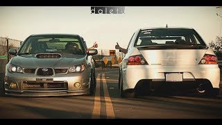 Download EVO VS IMPREZA -||- Versus Series (PART 2) Video