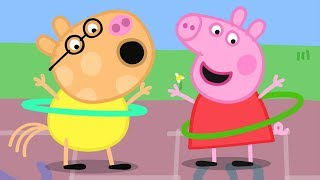 Download Peppa Pig English Episodes | Skipping and Hula Hooping with Peppa Pig! Peppa Pig Official Video