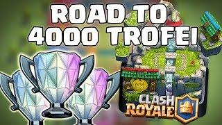 Download INIZIAMO LA SCALATA! | Road to 4000 Trofei #1 (3163 coppe) | Clash Royale ITA Video