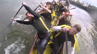 Download British dragon boat teams get controversial in 2000m race filmed on head cam Video