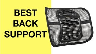 Download Amazing Facts for BEST Back Support For Office Chair & Car (LUMBAR SUPPORT PILLOW LOW BACK PAIN) Video