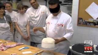 Download Cake Boss: Buddy Decorating a Cake Blindfolded Video