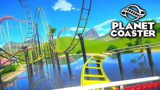 Download BUILDING A LAKE! - PLANET COASTER #3 Video