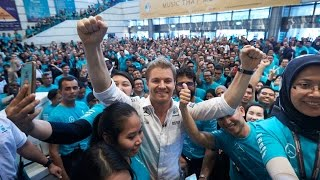 Download An F1 Champion's Welcome for Nico Rosberg in Kuala Lumpur! Video