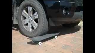 Download Carbon Fiber skateboard deck strength test, Carbon Decks (tm) Video