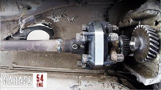 Download Welding the prop-shaft to the motor and driving without a gearbox Video