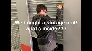 Download We bought a storage locker! will we find treasure or lose $$$? Video