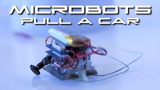 Download 6 Microrobots Move A Car 18,000 Times Their Weight - BTF Video