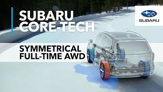 Download Symmetrical Full-Time All-Wheel Drive | Core Technology Video