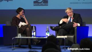 Download Boris Johnson explains how to speak like Winston Churchill Video