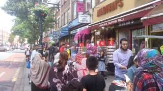 Download Southall Shopping Centre, London UK Video