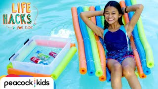 Download Relax By The Pool Hacks | LIFE HACKS FOR KIDS Video