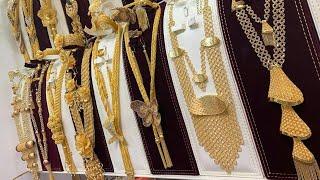Download عرض بضاعة جديدة واحدث موديلات الذهب مقدمه من مجوهرات رموش 2019 Video