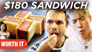 Download $6 Sandwich Vs. $180 Sandwich Video