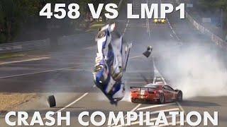 Download Ferrari 458 GTE VS LMP1 - Crash Compilation Video