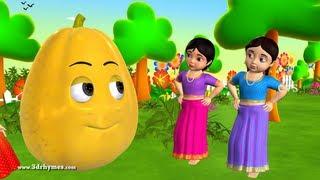 Download Learn Telugu Pandlu - Fruits - 3D Animation Preschool Telugu rhymes for children Video
