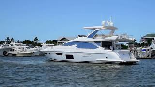 Download 2017 Azimut 72 Fly For Sale at MarineMax Naples Yacht Center Video