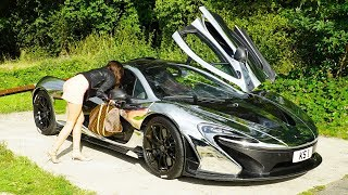 Download McLaren P1 GOLD DIGGER PRANK! Video