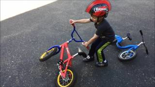 Download I tested the transition from balance bike to pedal bike... Video