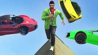 Download DODGE THE FLYING CARS! (GTA 5 Funny Moments) Video