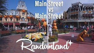 Download Disneyland vs Disney World - Main Street vs Main Street USA! Video