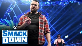 "Download Kane helps Daniel Bryan take a piece of ""The Fiend"" Bray Wyatt: SmackDown, Jan. 17, 2020 Video"