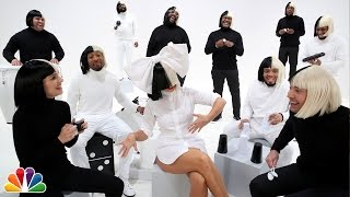 Download Jimmy Fallon, Sia, Natalie Portman & The Roots Sing ″Iko Iko″ Video