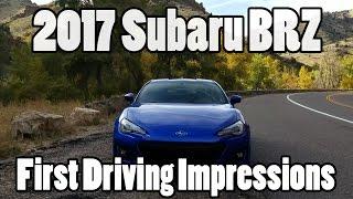 Download 2017 Subaru BRZ first driving impressions Video