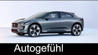 Download The future of Jaguar! Electric E-TYPE vs I-PACE EV SUV feature @ Tech Fest - Autogefühl Video
