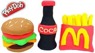 Download Pig George da Familia Peppa Como Fazer McDonalds com Massinha de Modelar Play-Doh Em Portugues Video