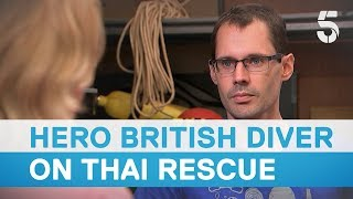 Download Thai cave rescue: British diver lost rope guide for four minutes during mission - 5 News Video