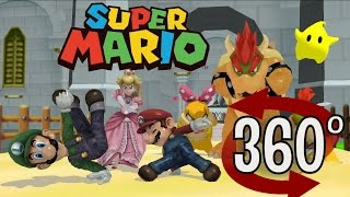 Download Super Mario Bros (360 VIDEO) BREAK DANCING - 3D VR ANIMATION Video