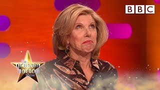 Download Christine Baranski is horrified Michael Sheen named his penis after her - BBC Video