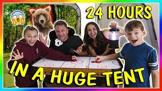 Download 24 HOURS IN A TENT - OVERNIGHT CHALLENGE | We Are The Davises Video