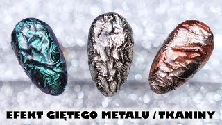 Download Efekt Giętego Metalu / Tkaniny - łatwe zdobienie hybrydowe * Candymona Video