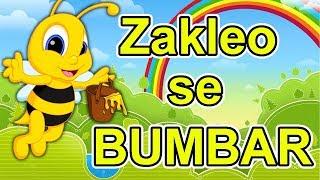 Download Zakleo se bumbar - Dečija pesmica | Muzika za decu o životinjama | Zum Zum zum zum | U cvet i u med Video