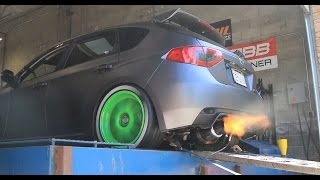 Download 460whp WRX Dyno Day - How to break your car in on the dyno - part 15 Video