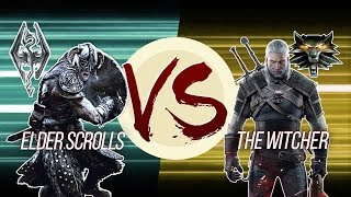 Download Elder Scrolls VS The Witcher Video