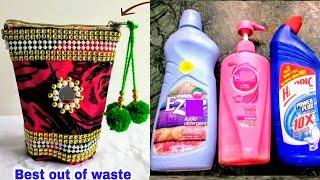 Download DIY Best Out Of Waste Empty Bottle Craft Idea/Best Reuse Idea Video